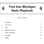 Michigan State Playbook
